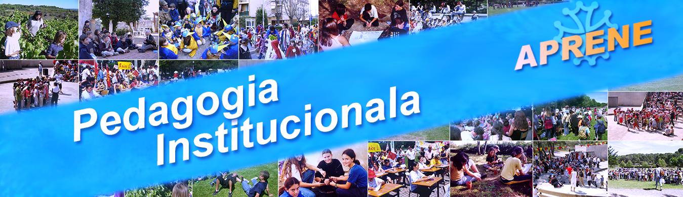 Pedagogia Institucionala