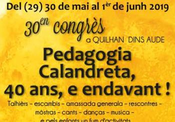 Calandreta – Congrès des 40 ans